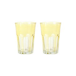 Rialto Glass Tumbler Set/2, Limoncello