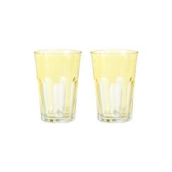 Rialto Glass Tumbler Set/2, Limoncello