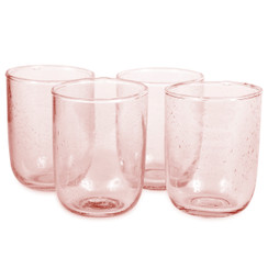 Short Glasses, Pale Rose