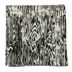 Faux Bois, Carbon, Set of 4