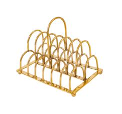 Brass Toast Stand