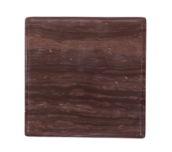 RED MARBLE OGEE SLAB, LARGE
