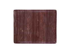 RED MARBLE OGEE SLAB, MEDIUM