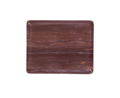 Red MARBLE OGEE SLAB, SMALL