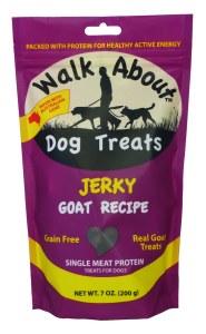 Walk About Dog Jerky (Goat Recipe)