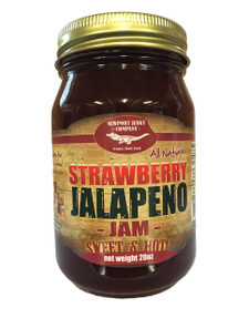 Jam (Strawberry Jalapeno)