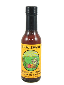 Toad Sweat Chocolate Orange Hot Sauce (Dessert Sauce)