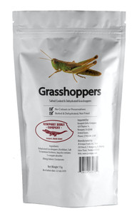 Bag of Edible Grasshoppers