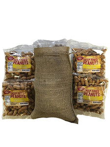 Deep Fried Peanuts 4 Pack Gift Bag (Garlic)