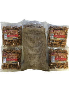 Deep Fried Peanuts 4 Pack Gift Bag (Spicy)