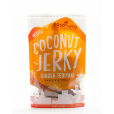Coconut Vegan Jerky (Ginger Teriyaki)