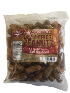 Deep Fried Peanuts (Bacon BBQ)
