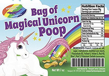 Bag of Edible Magical Unicorn Poop