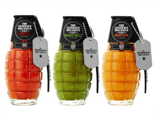 The Generals Hand Grenade Hot Sauce