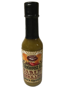 Newport Jerky Company Farmhouse Ale Garlic Serrano Hot Sauce
