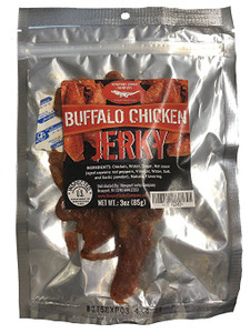 All Natural Buffalo Chicken Jerky