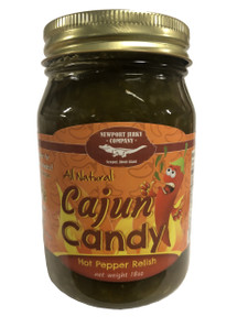 Cajun Candy Hot Pepper Relish (Jalepenos, Onions, Garlic)