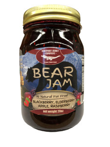 Newport Jerky Company All (Natural Fat, Free) Bear Jam. Blackberry, Elderberry, Apple, Raspberry
