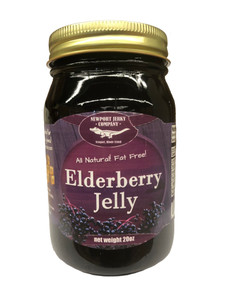 Newport Jerky Company Elderberry Jelly (All Natural, Fat Free, Gluten Free)