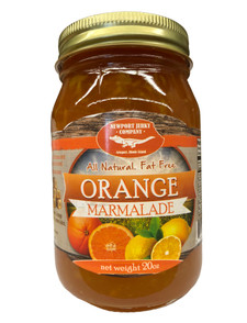 Newport Jerky Company Orange Marmalade ( All Natural, Fat Free, Gluten Free)