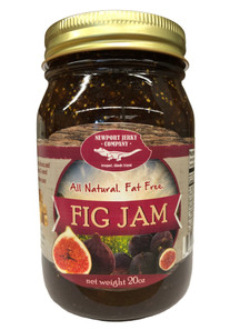 Newport Jerky Company Fig Jam ( All Natural, Fat Free, Gluten Free)