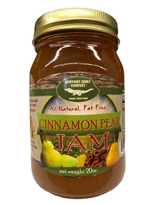 Newport Jerky Company Cinnamon Pear Jam (All Natural, Fat Free, Gluten Free)