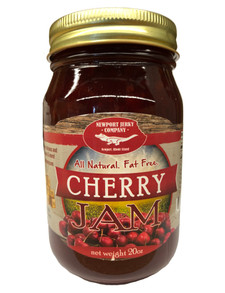 Newport Jerky Company Cherry Jam ( All Natural, Fat Free, Gluten Free)