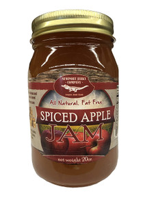 Newport Jerky Company Spiced Apple Jam (All Natural, Fat Free, Gluten Free)