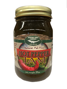 Newport Jerky Company Hot Pepper Jam (All Natural, Fat Free, Gluten Free)