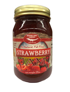 Newport Jerky Company Strawberry Jam (All Natural, Fat Free, Gluten Free)