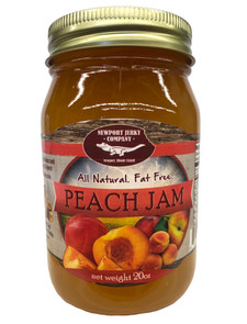 Newport Jerky Company Peach Jam (All Natural, Fat Free, Gluten Free)