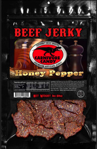 Carnivore Candy Honey Pepper Beef Jerky