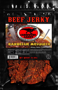 Carnivore Candy Mesquite BBQ Beef Jerky