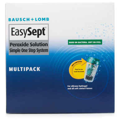 Bausch and Lomb EasySept 3x360ml - 3 Month Supply