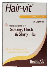HealthAid Hair-vit - 30 Capsules