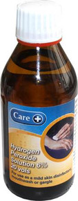 Care Hydrogen Peroxide Solution 6% 20 vols - 200ml