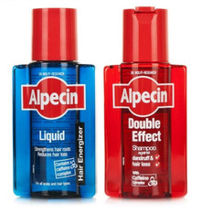 Alpecin Double Effect Shampoo - 200ml & Alpecin After Shampoo Liquid - 200ml