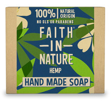 Faith In Nature Vegetable Hemp Soap With Green Tea - 100g