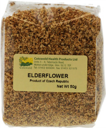 Cotswold Elderflower Tea - 50g