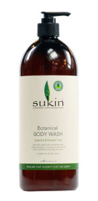 Sukin Botanical Body Wash (Pump) - 1 Litre