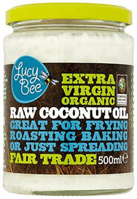 Lucy Bee Extra Virgin Raw Organic Coconut Oil - 500ml