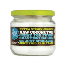 Lucy Bee Extra Virgin Raw Organic Coconut Oil - 300ml