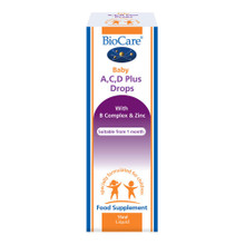 Biocare Baby A, C, D Plus Drops - 15ml
