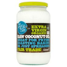 Lucy Bee Extra Virgin Raw Organic Coconut Oil - 1 Litre
