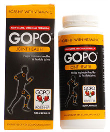 GoPo Joint Health Rosehip - 200 Capsules