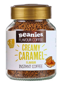 Beanies Coffee Creamy Caramel Flavour Instant Coffee - 50g