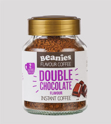 Beanies Coffee Double Chocolate Flavour Instant Coffee - 50g