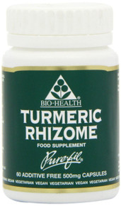 Bio Health Turmeric Rhizome - 60 Capsules
