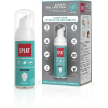 Splat Express Oral Care Foam Mint For Oral Care On The Move - 50ml