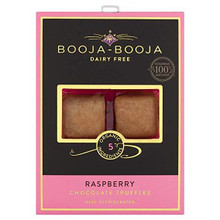 Booja-Booja Organic Raspberry Chocolate Truffles - 69g